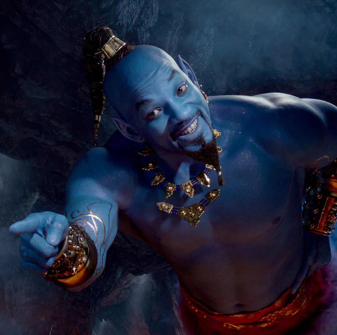 """Aladdin's Will Smith admits he """"started off fearful"""" taking on Genie role after Robin Williams"""