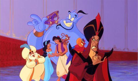Los personajes de 'Aladdín'