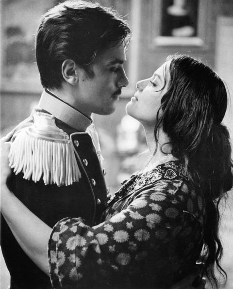 alain delon and claudia cardinale in 'the leopard'