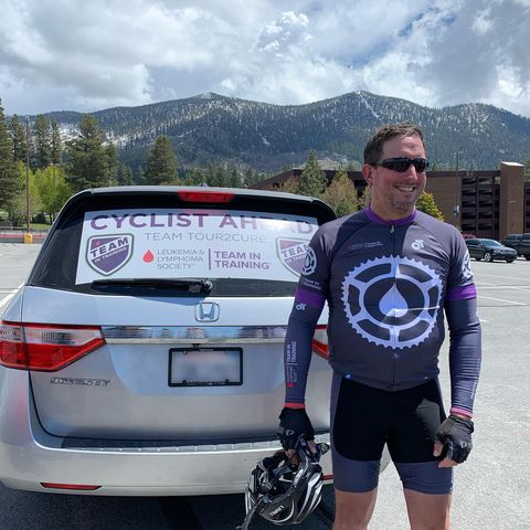 Cancer Survivor Rides 540 Miles After Being Told He'd Never Walk Again