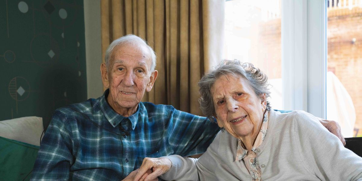 Couple who have been married for 64 years share secret to long-term happiness