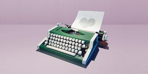 Typewriter, Office equipment, Office supplies, Technology,
