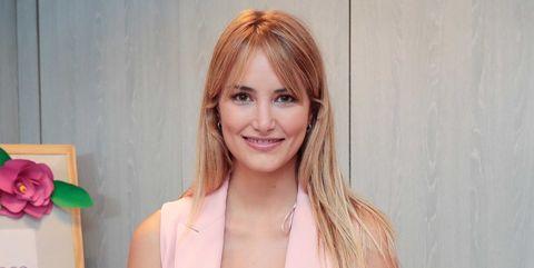 Alba Carrillo en el evento de la firma 'Essence' para la que realizó una masterclass de maquillaje