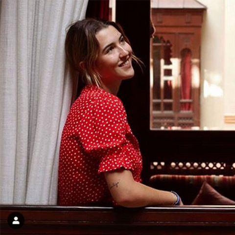 Alba Díaz echa de menos a su novio en Marrakech