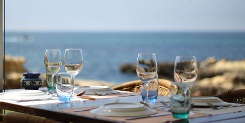 Albarino wijn van de zee