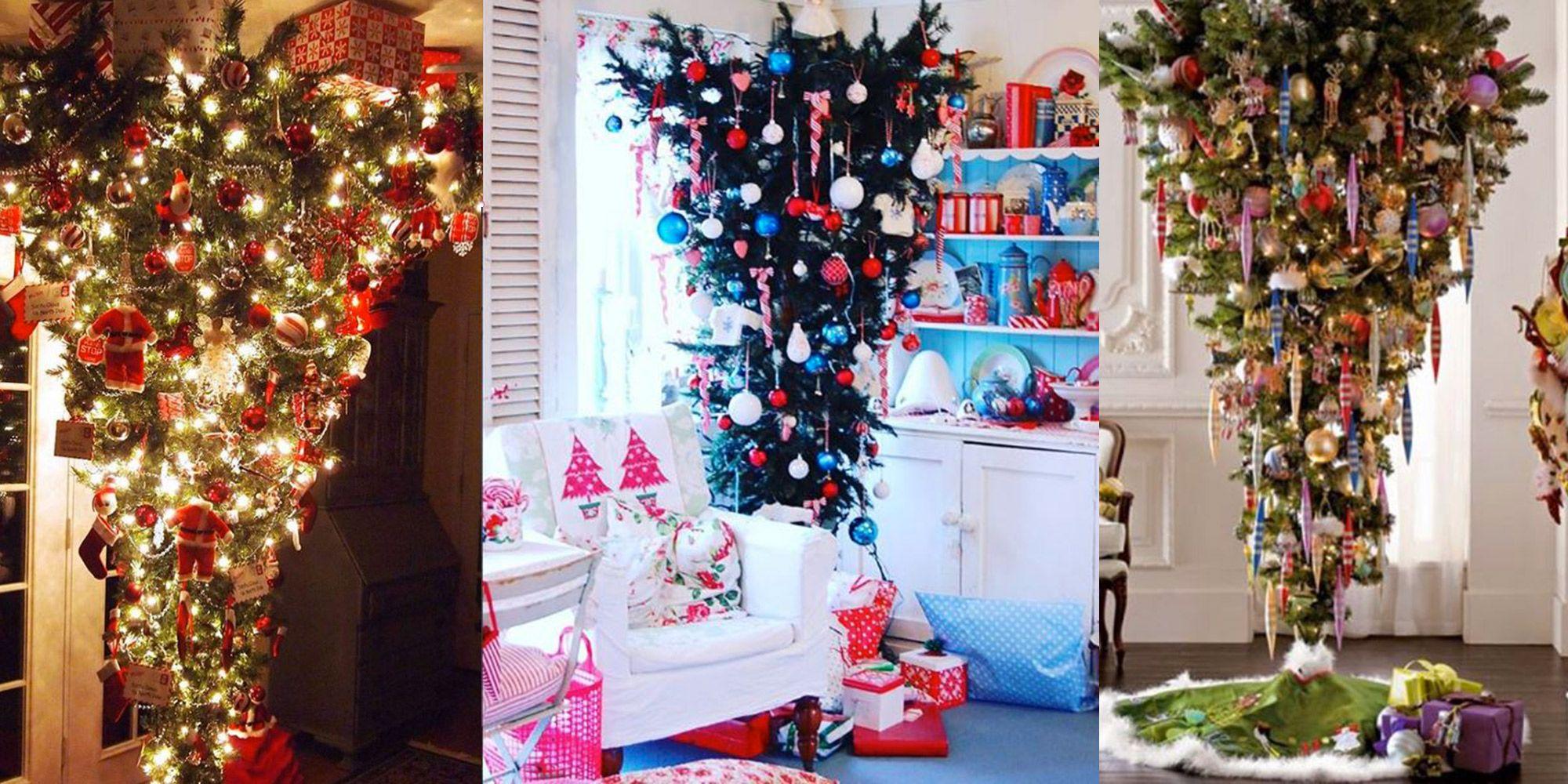 Albero Di Natale Al Contrario Foto.Alberi Di Natale Ora Sono Al Contrario Come Nel Sottosopra Di Stranger Things