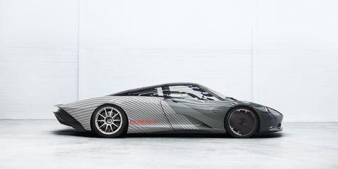 McLaren Speedtail Albert Profile