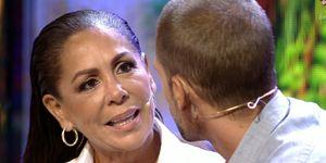 Isabel Pantoja y Albert no logran acercar posturas en su incómodo cara a cara