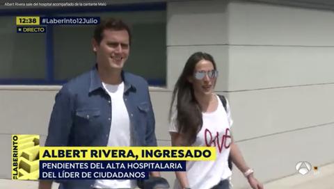 Albert Rivera descuido