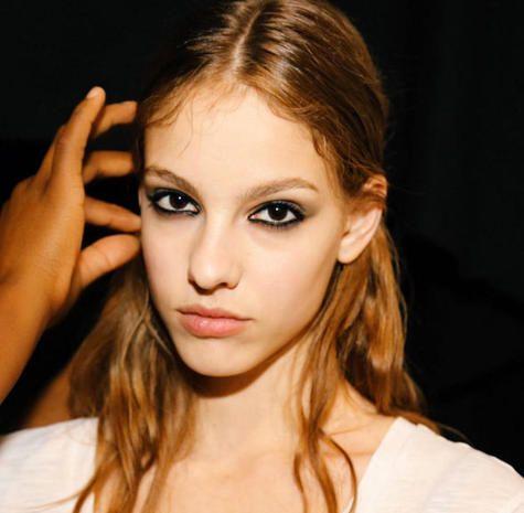 Hair, Face, Lip, Mouth, Cheek, Finger, Eye, Brown, Hairstyle, Skin,