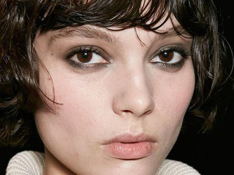 Nose, Mouth, Lip, Cheek, Eye, Hairstyle, Skin, Chin, Eyelash, Forehead,