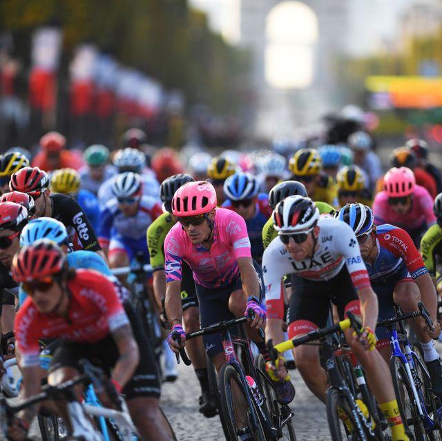the peloton during the 107th tour de france 2020   stage 21
