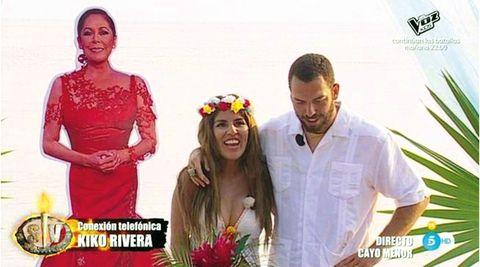 Alberto Isla y Chabelita Pantoja, boda rito garífuna
