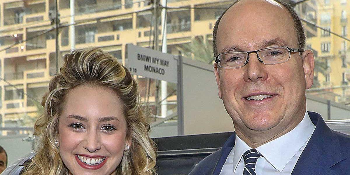 Alberto de Mónaco con su hija Jazmin Grace