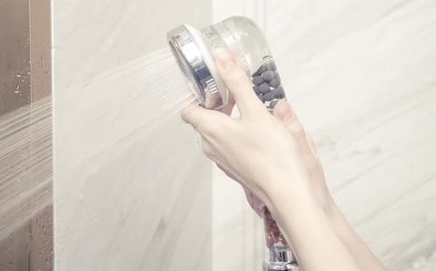 alcachofa ducha filtro