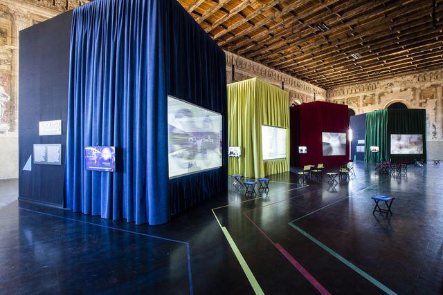 la mostra studio visit alcantaramaxxi project, scuola grande della misericordia, venezia