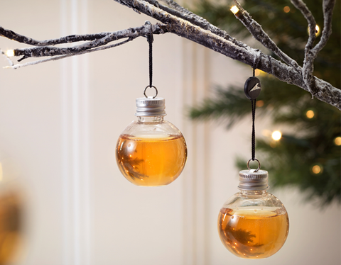 Mason jar, Glass bottle, Yellow, Branch, Tree, Glass, Ornament, Bottle, Twig, Perfume,