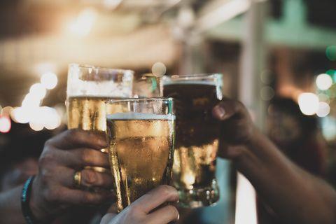 alcohol, bier, drank, feestje, kater, prestatie, wijn, hardlopen, runnersworld, Runner's World, runnersweb