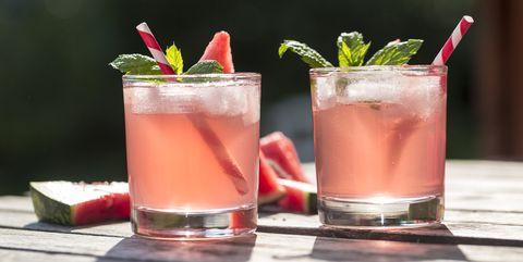 Alcohol in de zon