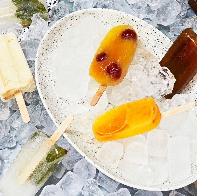alcoholic ice lollies