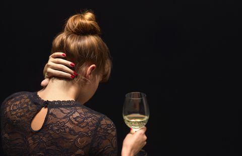 alcoholic women with depression