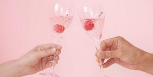 Alcoholvrije wijn, champagne