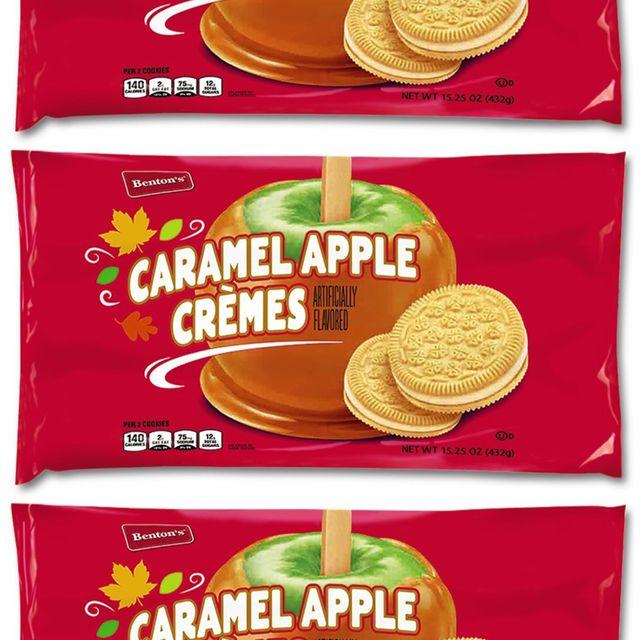 benton's caramel apple crèmes cookies at aldi