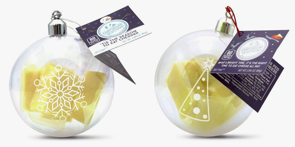 Aldi Is Selling Ornaments Filled With Cheese for Your Christmas Tree
