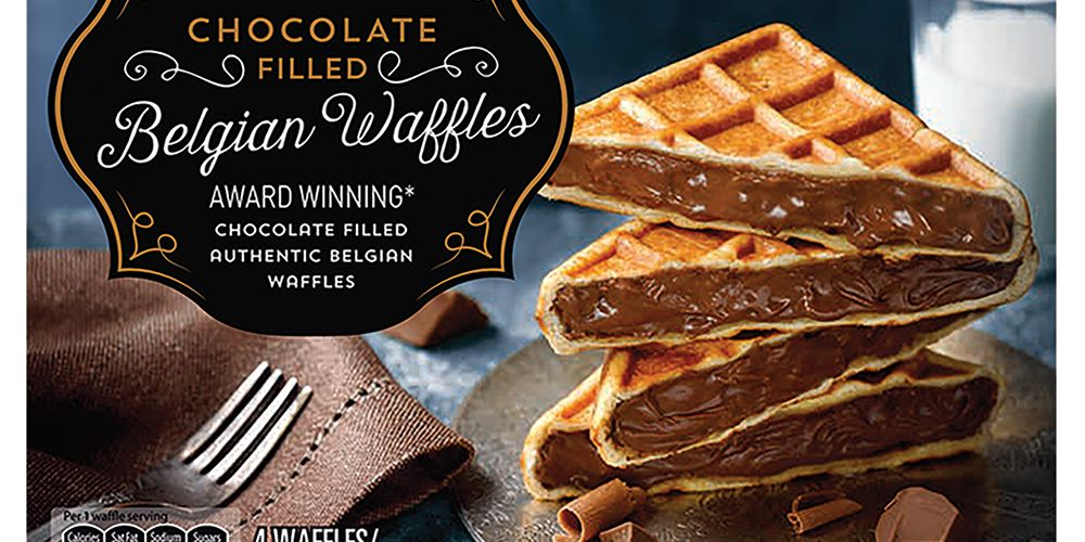 Aldi Is Selling Chocolate Stuffed Waffles So Goodbye To