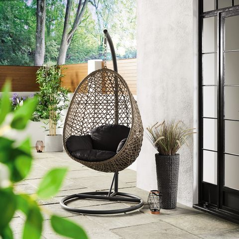 Cool Aldi Is Selling A Hanging Egg Chair For Under 130 Gmtry Best Dining Table And Chair Ideas Images Gmtryco