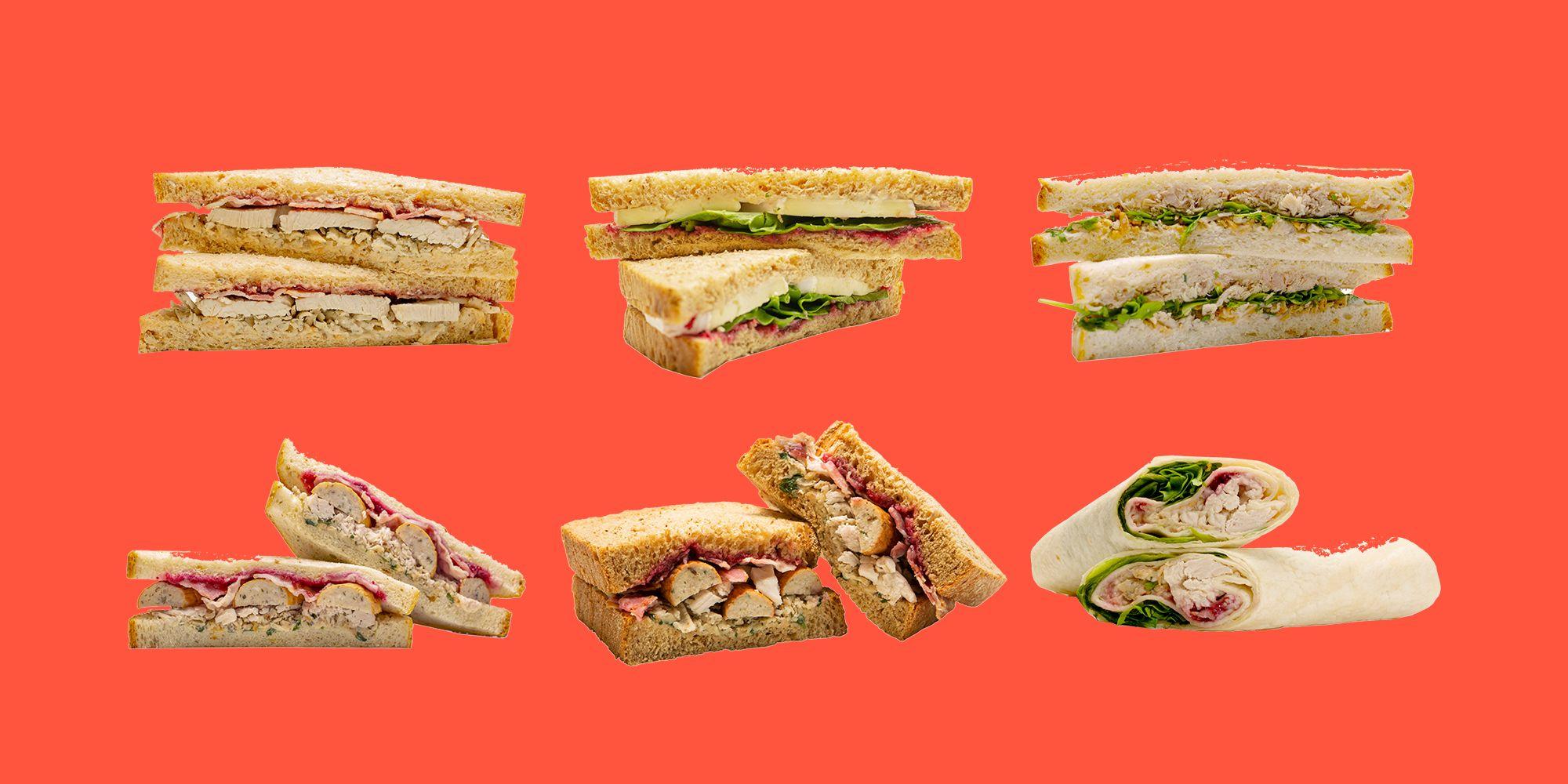 Aldis Christmas Sandwich Range Aldis Festive Sarnies