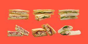 Aldi's Festive Sandwich Range
