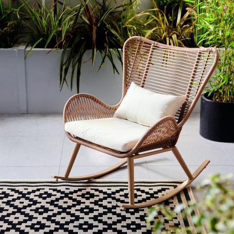 aldi launches £100 rocking garden chair   aldi offers