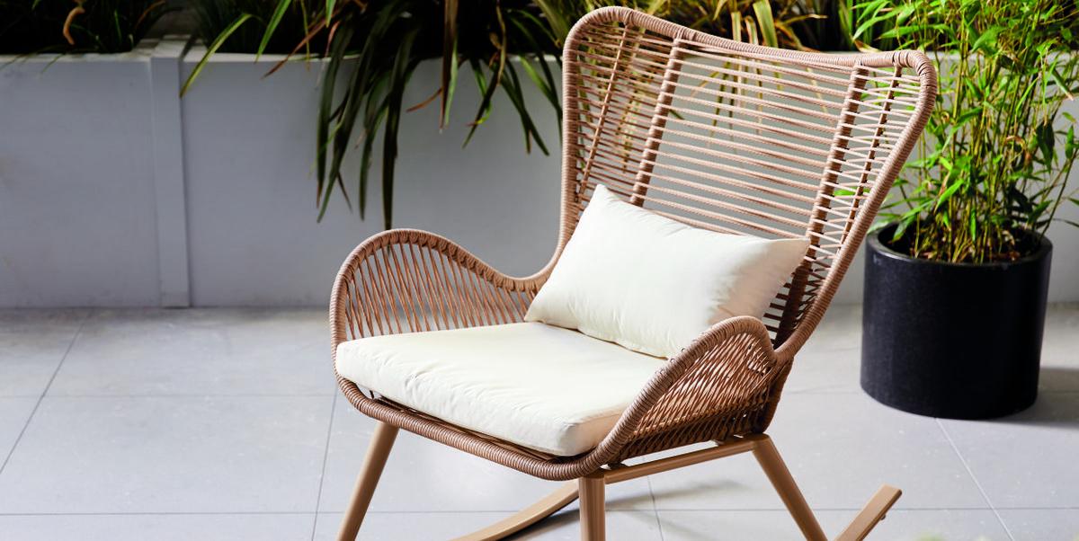 Aldi launches £100 garden rocking chair so you can recline alfresco