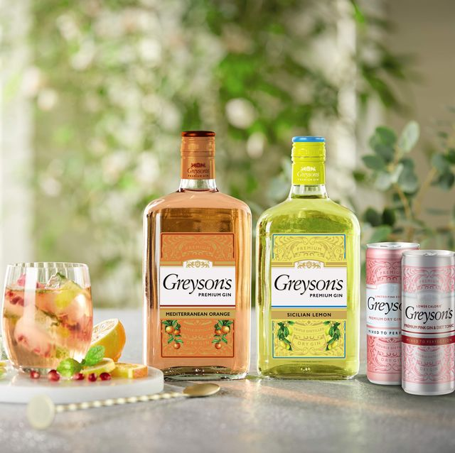 aldi gin has had a summer makeover with these orange and lemon flavours