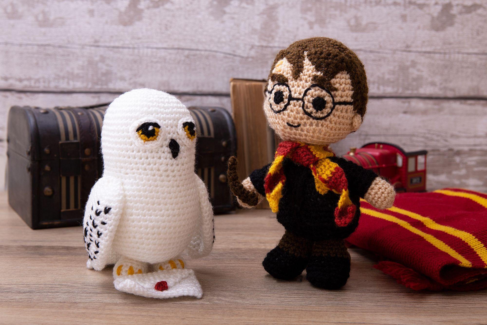 Free Harry Potter Amigurumi Pattern (Crochet) - Daisy and Storm | 1333x2000
