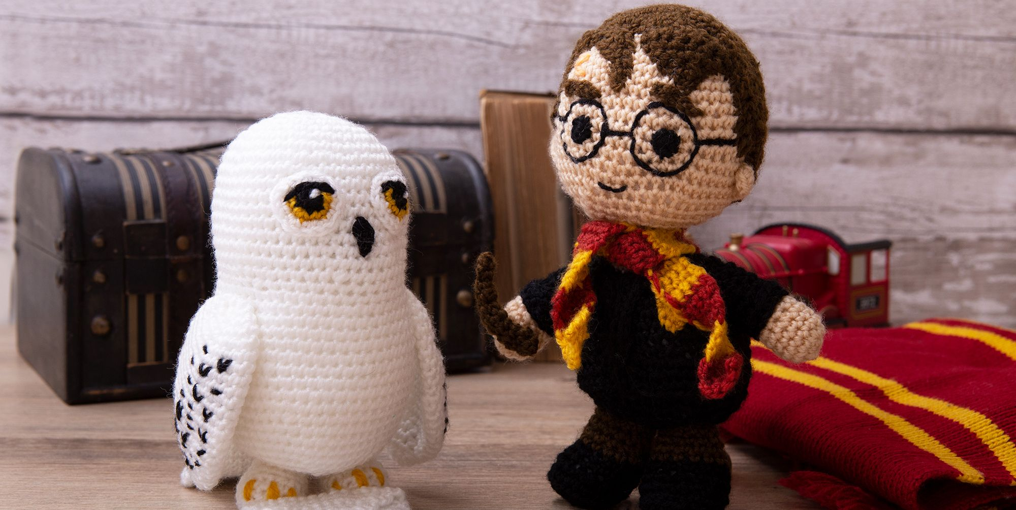 Aldi harry Potter crochet kit