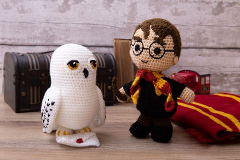 Aldi harry Potter crochet kit