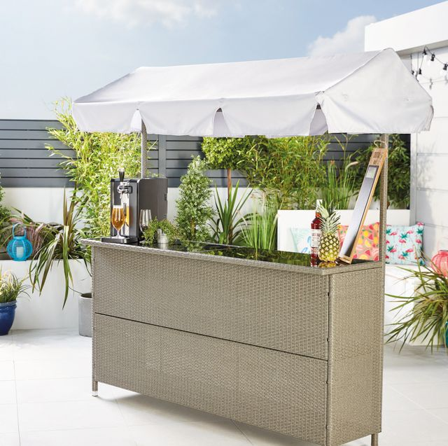 aldi launches must have rattan garden bar — and we predict a sell out