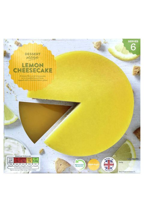 aldi specially selected lemon glazed cheesecake