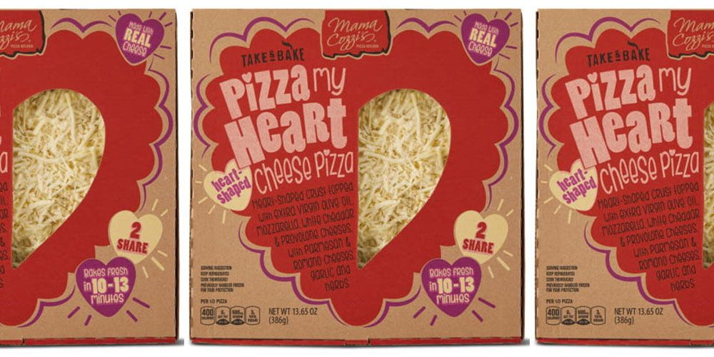 Aldi Is Selling A Heart Shaped Pizza So Your Valentine S
