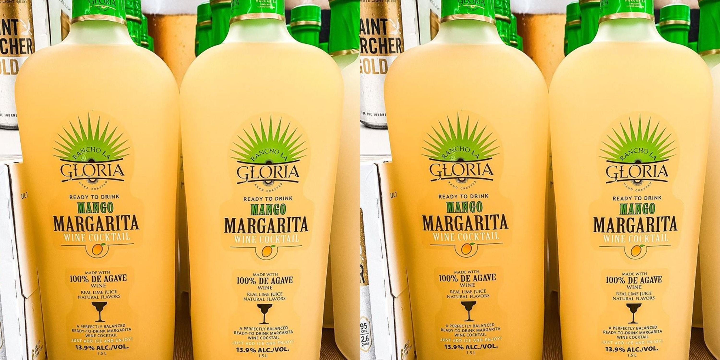 Aldi Is Selling Bottles Of Margarita Wine In A Mango Flavor