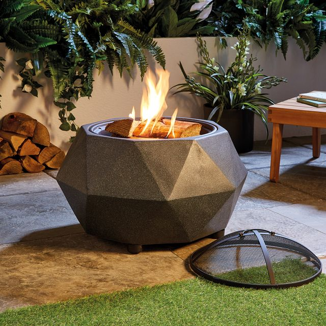 50 Aldi Fire Pit Doubles As Bbq For