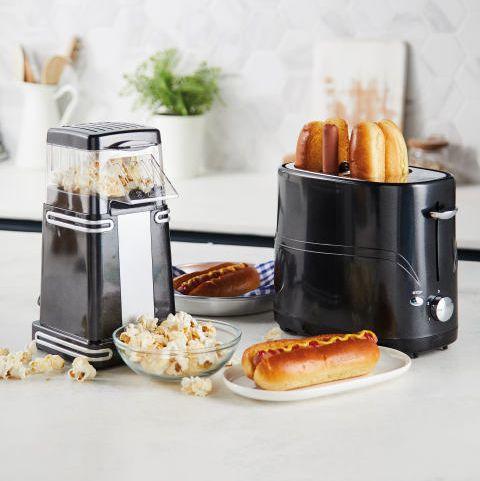aldi popcorn maker hot dog toaster