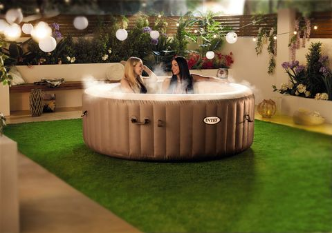 Buy Hot Tub >> Aldi S Luxury Blow Up Hot Tub Is Back On Sale Aldi Specialbuys
