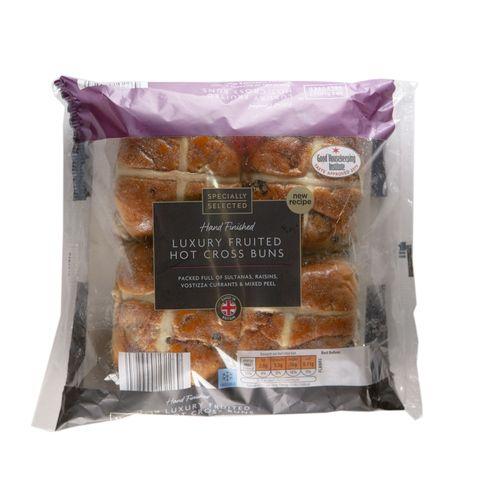 Aldi hot cross bun