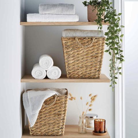 aldi launches chic new storage range   and we need this stylish £899 basket