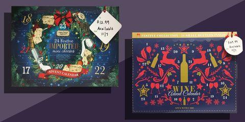 Aldi Cheese Advent Calendar.Aldi S Wine Advent Calendar Is Coming To The U S This November