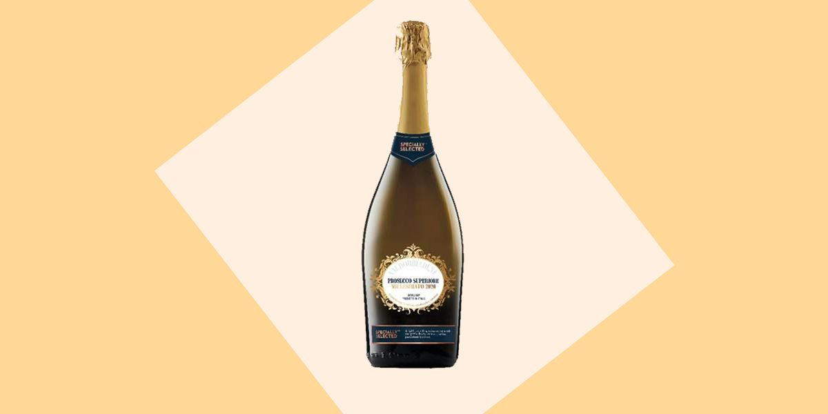 Aldi's fizz has been crowned the best supermarket own-brand Prosecco
