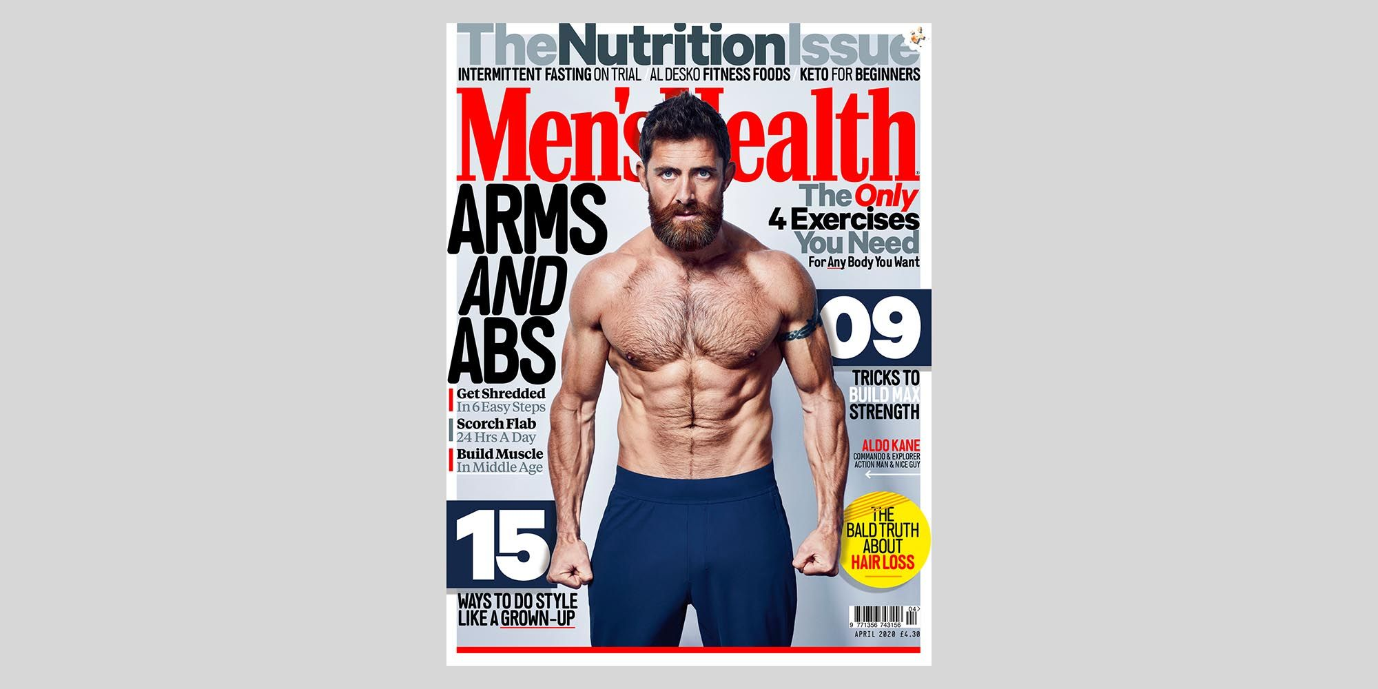 5 Reasons to Buy the April Issue of Men's Health